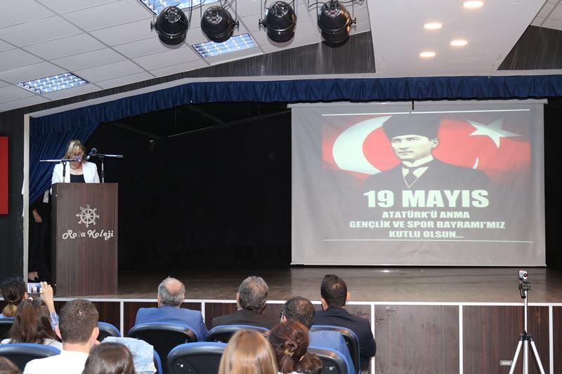 19 Mayis Atatürkü Anma Gençlik Ve Spor Bayrami Rota Koleji