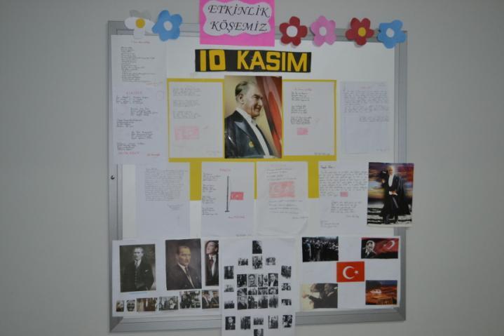 10 Kasım Atatürkü Anma Sergimiz Rota Koleji