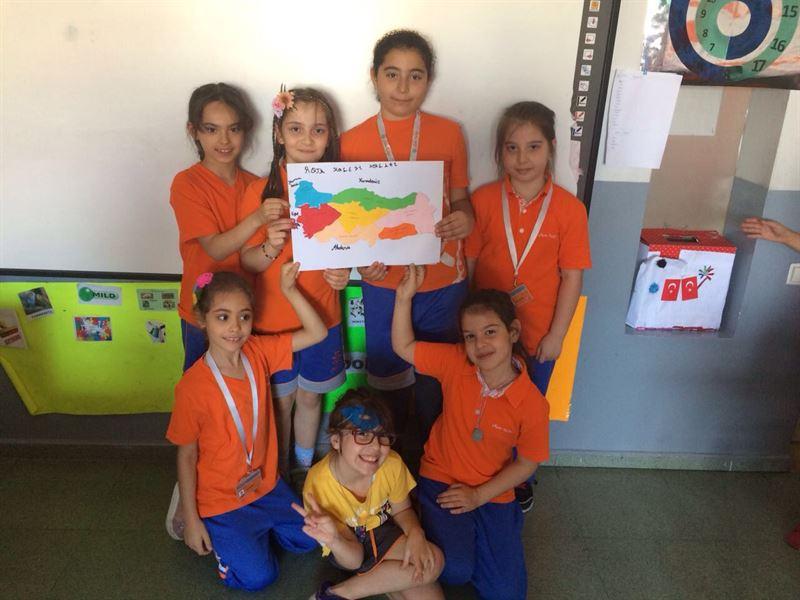 Türkiye Haritası Etkinliği Rota Koleji
